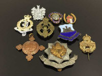 A selection of vintage medals and badges. (10)