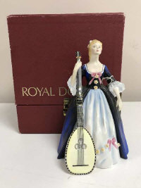 A Royal Doulton figure - Chitarrone, HN 2700, limited edition number 613, boxed with certification, height 19 cm