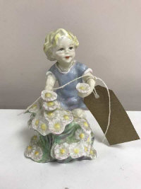 A Royal Worcester figure - May, numbered 3455, height 12.5 cm