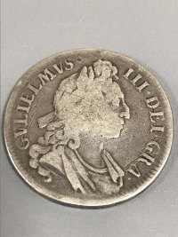 A William III silver Crown 1696