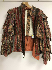 A high quality Elizabethan style theatrical doublet from the Royal Opera House Covent Garden