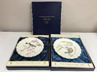 A large collection of series and collector's plates including Royal Worcester The Birds of Dorothy Doughty, Spode Derby limited edition, Goebel wildlife plates etc, mostly boxed. (23)