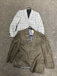 Two vintage Gentleman's sports jackets - Christian Dior and Bernard Gross & Son. (2)