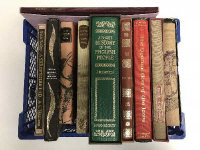 Ten Folio Society volumes - A short History of the English people etc. (10)