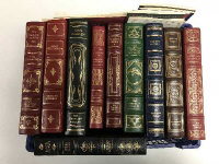 Ten Franklin library volumes - Great Expectations etc. (10)