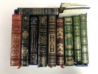 Ten Franklin library volumes - Paradise lost etc. (10)