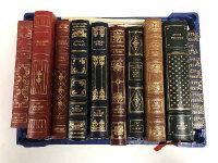 Ten Franklin library volumes - Dylan Thomas etc. (10)