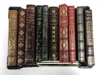Ten Franklin library volumes - The Scarlet letter etc. (10)