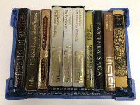 Ten Folio Society volumes - The Lord of the Rings etc