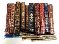 Ten Franklin library volumes - D H Lawrence etc. (10)