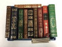 Ten Franklin library volumes - Jonathan Swift etc. (10)