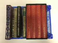Ten Folio Society volumes -  Cold Comfort farm and others. (10)