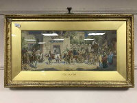J Behenna Taylor : Jacob journeying to Egypt, watercolour, 69 cm x 29 cm, signed with monogram,  framed.