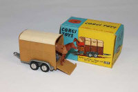 A Corgi Toys die cast vehicle - Rice's Pony Trailer with Pony, 102, boxed.