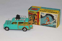A Corgi Toys die cast vehicle - Surfing with the B.M.C. Mini-Countryman, 485, boxed.