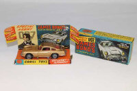 A Corgi Toys die cast vehicle - James Bond's Aston Martin D.B.5, from the film GoldFinger, 261, boxed.