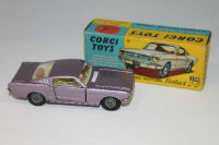 A Corgi Toys die cast vehicle - Ford Mustang Fastback 2 + 2, 320, boxed.