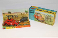 A Corgi Toys die cast vehicle -  Volkswagen 1200, In East African Safari Trim, 256, boxed.