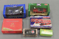 A collection of die-cast vehicles to include Corgi, Revell, Atlas Editions etc, all parts boxed. (6)