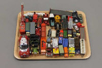 A tray of die-cast vehicles - Commercial trucks etc  (Q)