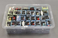 A box of Oxford Automobile model vehicles, all parts boxed. (Q)