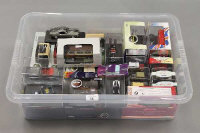 A box containing a large quantity of die-cast and other model vehicles including Oxford Classics etc. (Q)