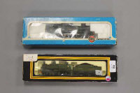 An Airfix OO gauge locomotive tank engine, together with a Dapol GWR locomotive engine, all parts boxed. (2)