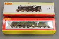 Two Hornby OO gauge locomotive engines- British Rail Stanier 2-6-4 class, together with British Rail 4-6-2 Duchess class, both parts boxed. (2)