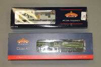 Two Bachmann Branch-Line locomotive engines - Class 37/0 Diesel coal Sector and A1 Class 60163 Tornado, both boxed. (2)