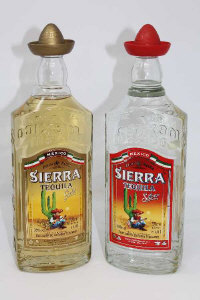 Sierra Tequila - Silver and Gold, each 1l. (2)