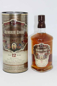 William Grant & Sons - Robbie Dhu, Deluxe Scotch Whisky, aged 12 years, 1l, in presentation tube.
