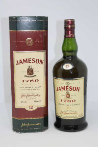 Jameson - 1780 Reserve Old Irish Whiskey, aged 12 years, 1l, in presentation box.