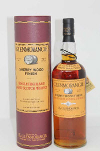 Glenmorangie - Single Highland Malt Scotch Whisky, handcrafted by the sixteen me of Tain, Sherry Wood finish, 1l, in presentation tube.