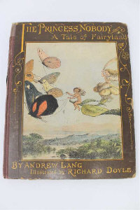 Andrew Lang (1844-1912) : The Princess Nobody, A Tale of Fairyland, illustrated by Richard Doyle, Longman's Green and Co, First Edition.