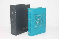 Folio Society : Ulysses, 2004 limited edition 178/1750, in blue leather covers with gild design by Jeff Clements, cased.