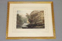 George Fennel Robson P.O.W.S. (1788-1833), A View of the Clyde, watercolour, label verso, 28cm by 19cm.