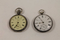 A silver pocket watch, Chester 1902, Lancashire Watch Co. Ltd, together with another nineteenth century silver pocket watch. (2)