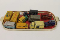 Two Dinky Lampe Mazda vehicles, boxed, together with seven other Dinky vehicles. (9).