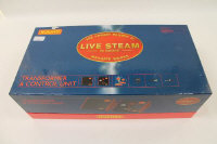 A Hornby 'Live Steam' 00 gauge transformer and control unit, boxed.