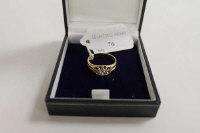 An 18ct gold diamond solitaire ring approximately 0.7ct.