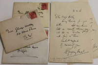 An interesting archive of letters, notes and cards to the Hedley family at Clevedon Lodge, Middlesbrough.