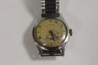 An mid twentieth century Gentleman's West End Watch Co. Longines wrist watch.