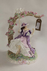 A Royal Worcester figure - Summer's Dream, height 32.5 cm.