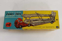 A Corgi Carrimore car transporter 1101, boxed.