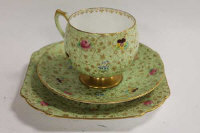 A Shelley forty piece tea set, pattern H12609/48. (40)