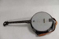 A four string banjo by Gremlin.