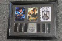 Six limited edition 35mm filmcel montages - Harry Potter, all parts framed. (6)