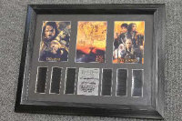 Three limited edition 35mm filmcel montages - The Lord of the Rings, all parts framed. (3)
