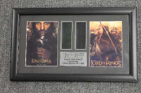 Four limited edition 35mm filmcel montages - The Lord of the Rings, all parts framed. (4)