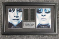 Six limited edition 35mm filmcel montages - The Matrix, all parts framed.